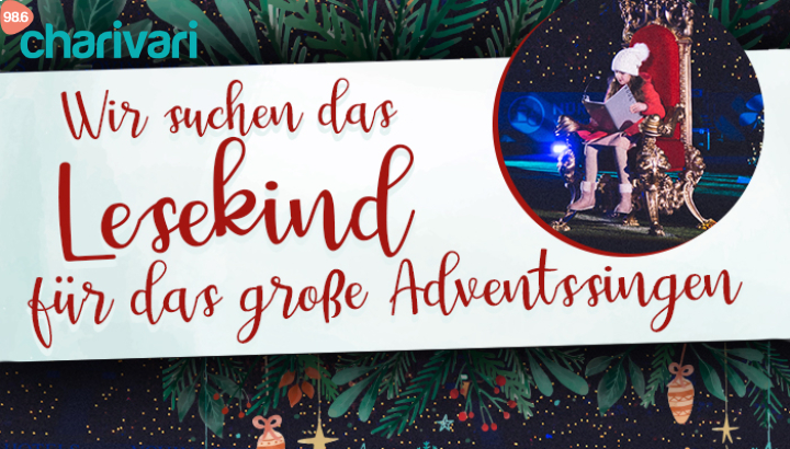 Werde Lesekind beim Großen Adventssingen 2020!