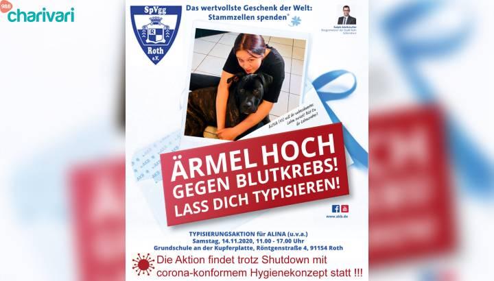 Spender gefunden: Alina darf Leben!