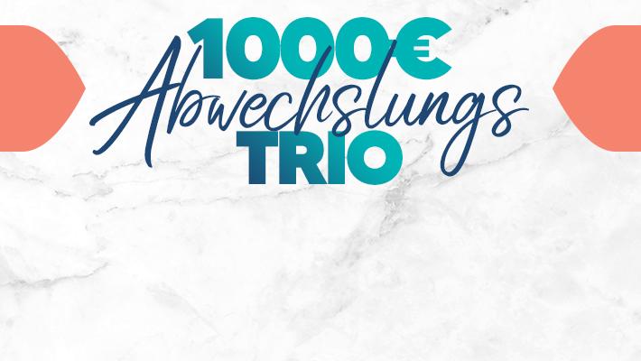 Das 98.6 charivari Abwechslungs-Trio