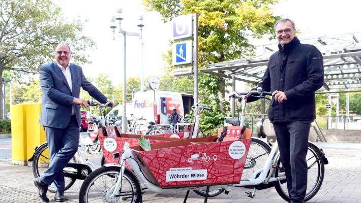 Nürnberg: VAG hat jetzt auch Lastenräder im Sortiment
