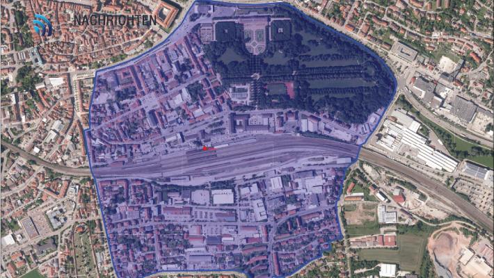 Bombe am Ansbacher Bahnhof entdeckt