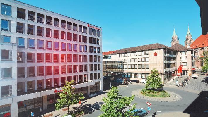 Sparkasse Nürnberg baut Filialnetz um
